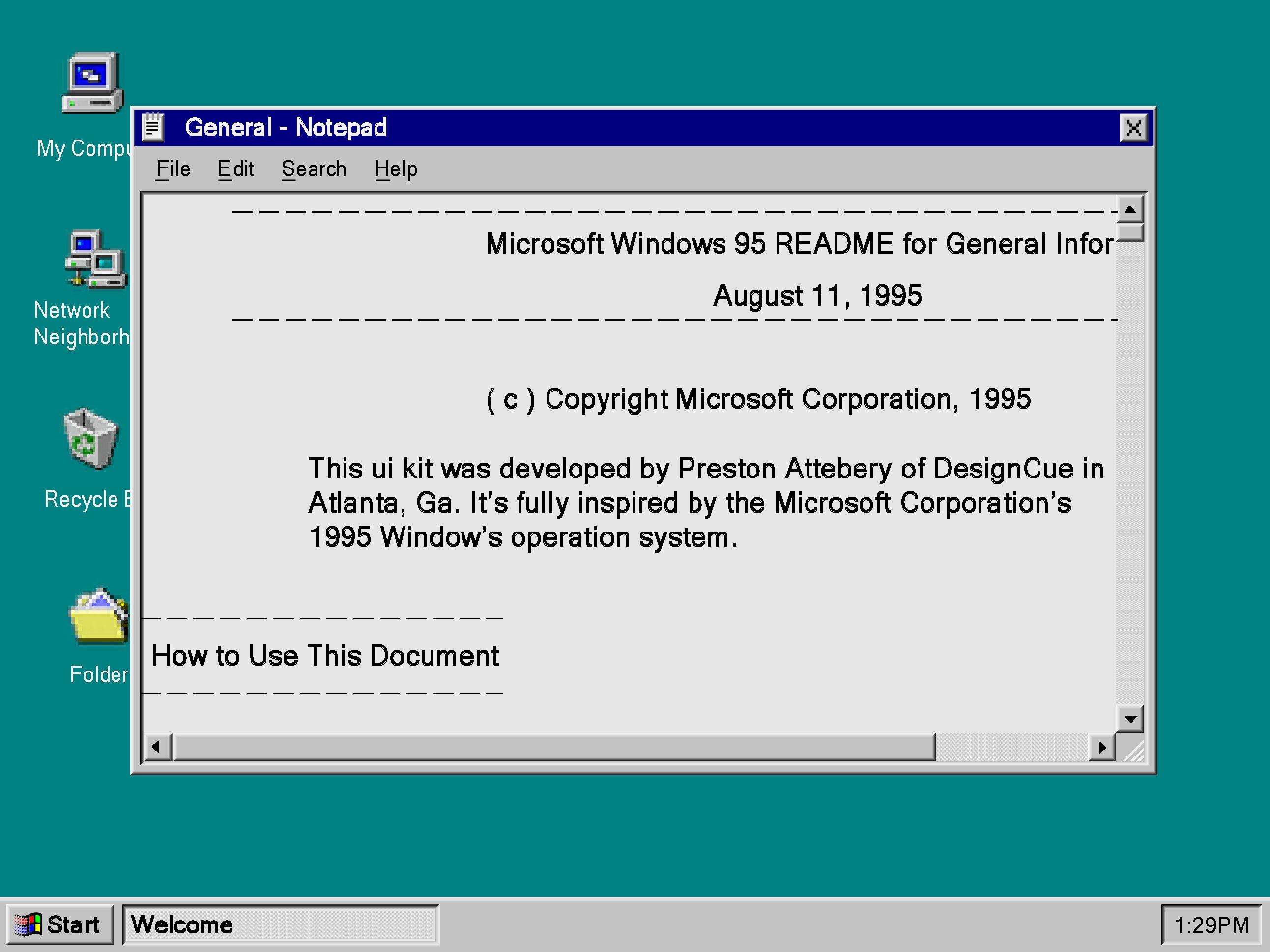 老式Windows 95 UI套件 Windows 95 UI Kit(3758)插图(2)