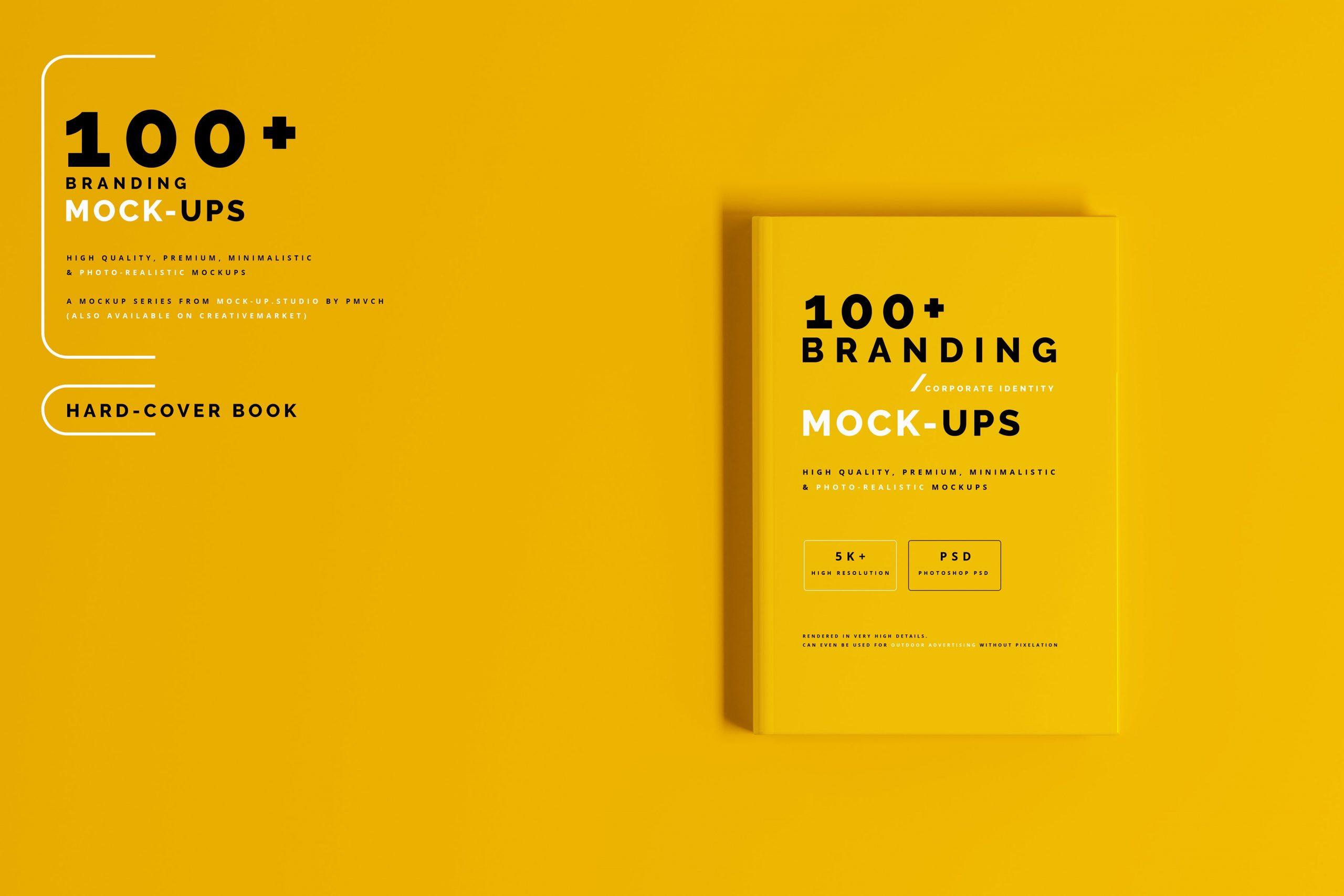 VI样机:100多个宣传册书籍瓶子名片CD封套咖啡杯化妆品海报横幅高分辨率品牌PSD样机(4248)插图(31)