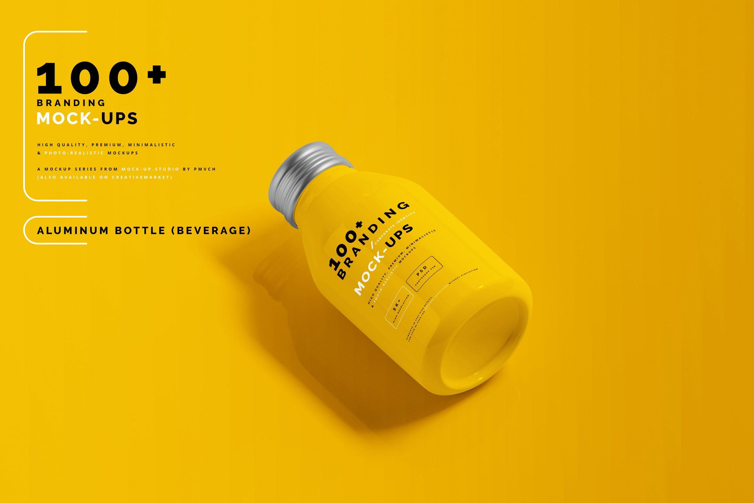 VI样机:100多个宣传册书籍瓶子名片CD封套咖啡杯化妆品海报横幅高分辨率品牌PSD样机(4248)插图(27)