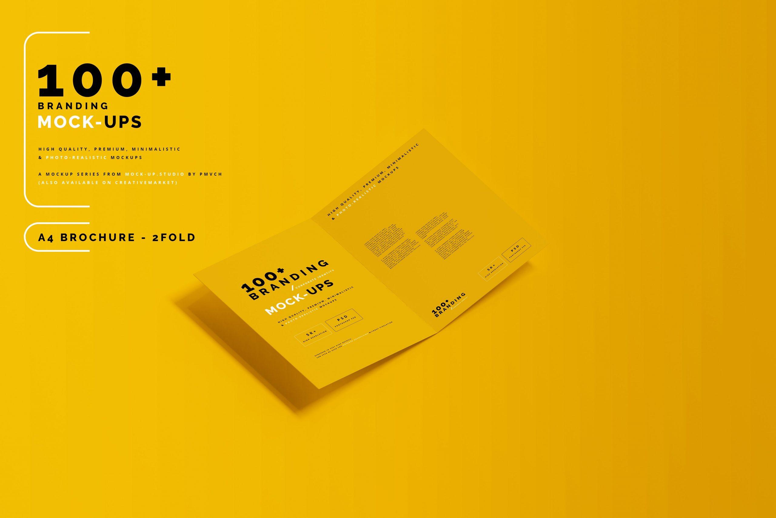 VI样机:100多个宣传册书籍瓶子名片CD封套咖啡杯化妆品海报横幅高分辨率品牌PSD样机(4248)插图(24)