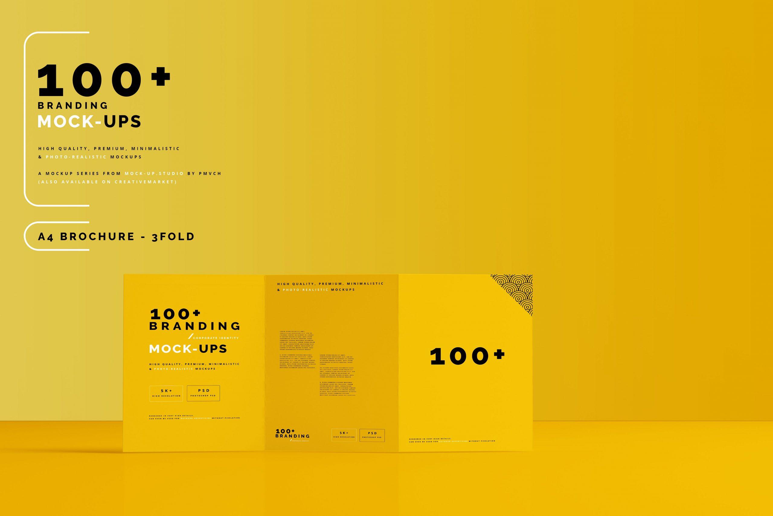 VI样机:100多个宣传册书籍瓶子名片CD封套咖啡杯化妆品海报横幅高分辨率品牌PSD样机(4248)插图(22)