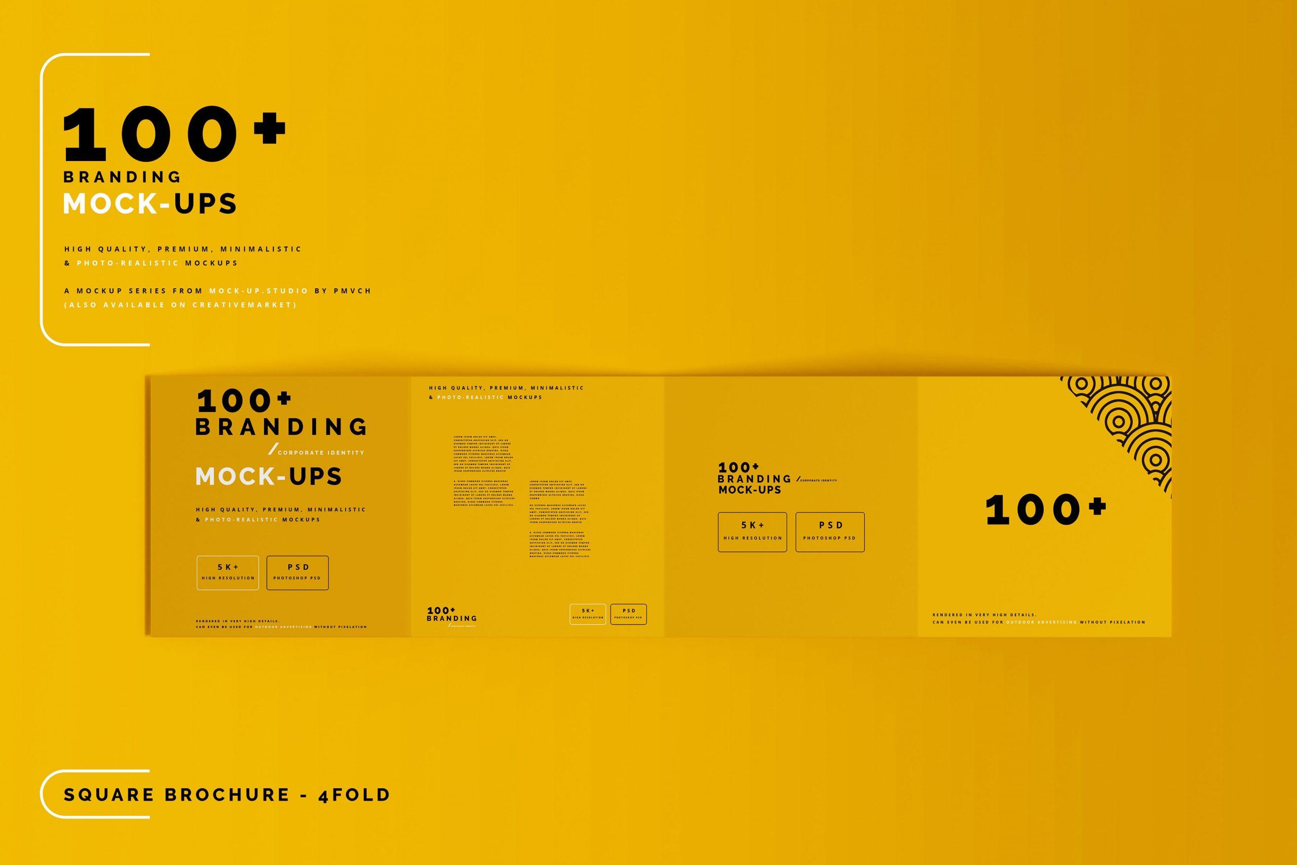 VI样机:100多个宣传册书籍瓶子名片CD封套咖啡杯化妆品海报横幅高分辨率品牌PSD样机(4248)插图(9)