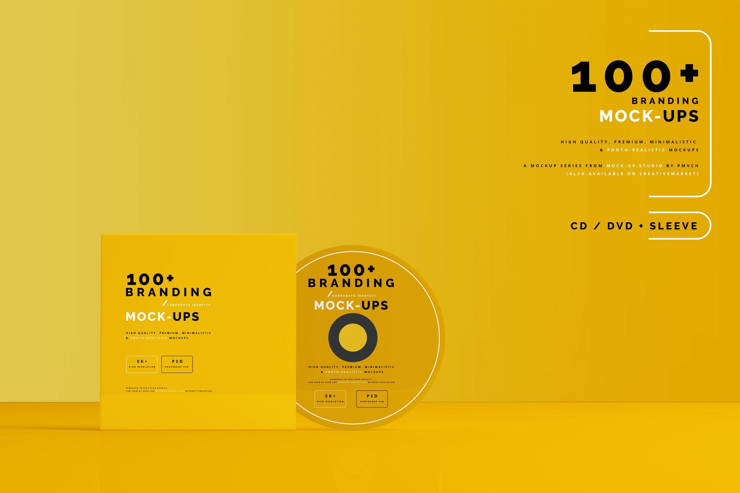 VI样机:100多个宣传册书籍瓶子名片CD封套咖啡杯化妆品海报横幅高分辨率品牌PSD样机(4248)插图(6)