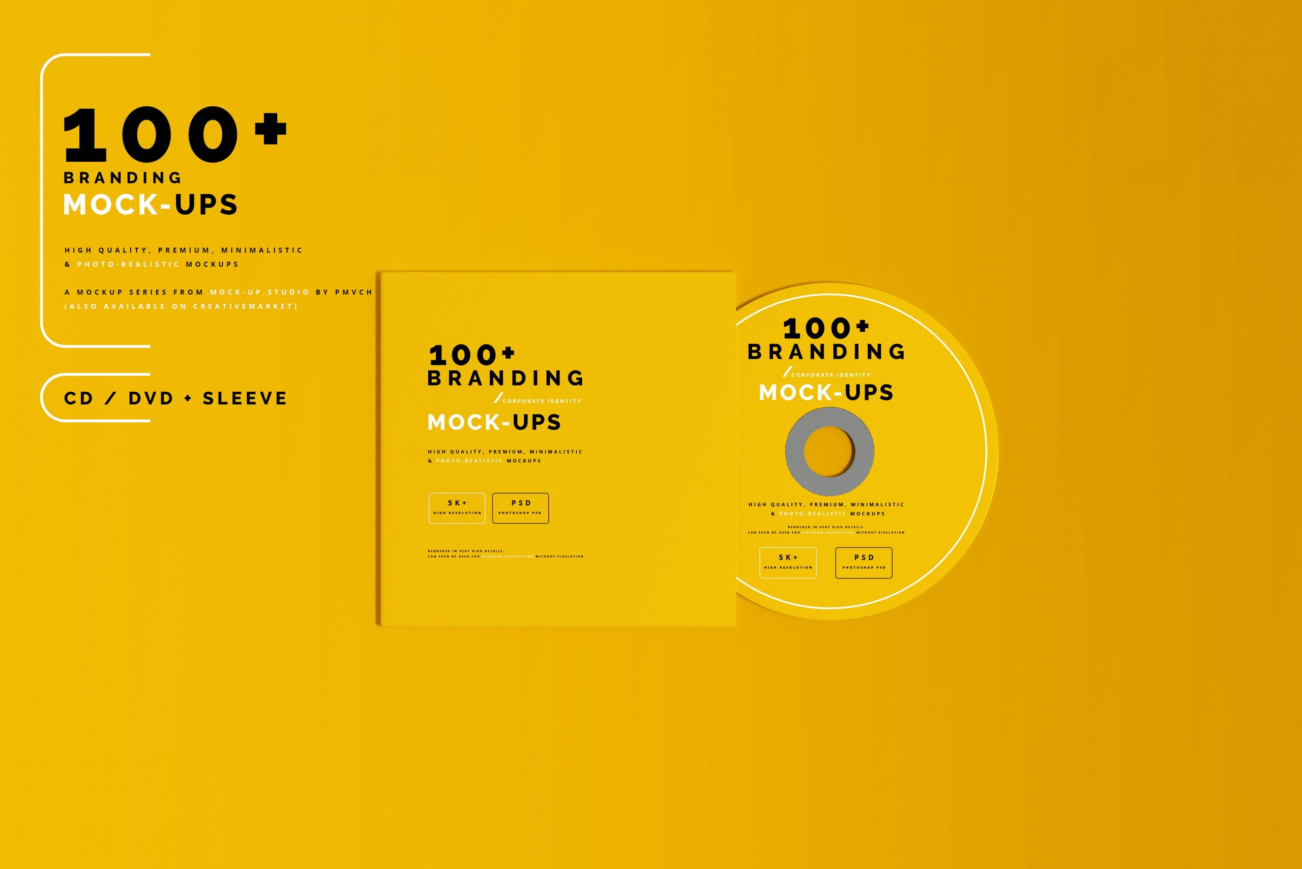 VI样机:100多个宣传册书籍瓶子名片CD封套咖啡杯化妆品海报横幅高分辨率品牌PSD样机(4248)插图(5)