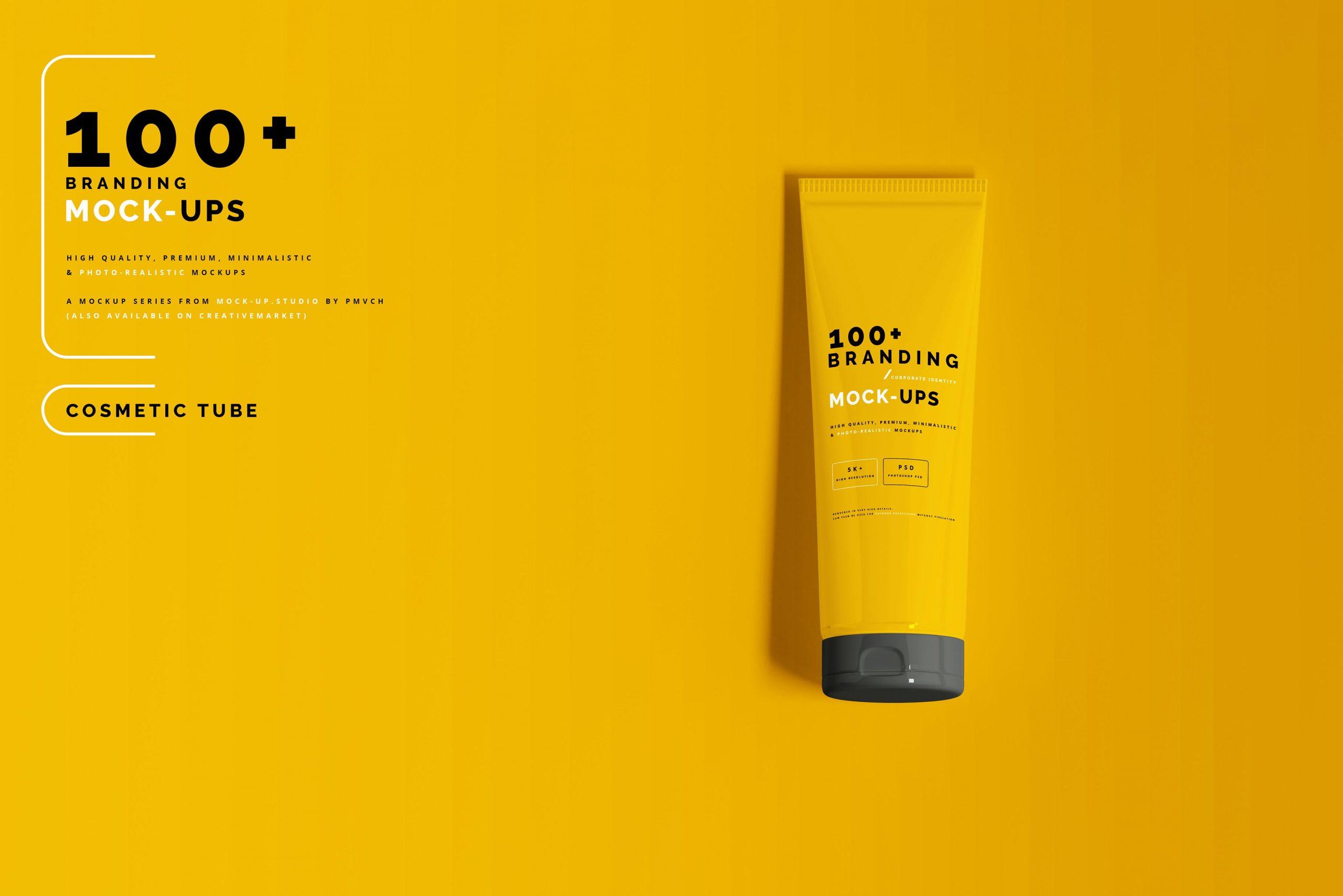 VI样机:100多个宣传册书籍瓶子名片CD封套咖啡杯化妆品海报横幅高分辨率品牌PSD样机(4248)插图(2)