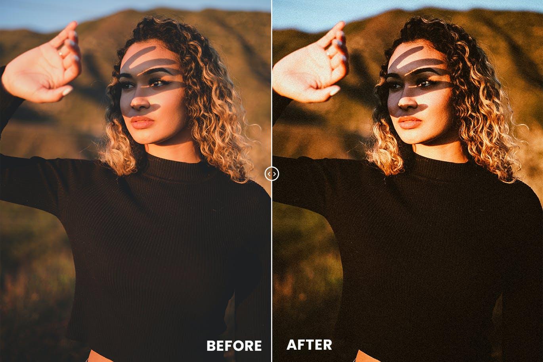 Sun Kissed Face Action & Lightrom预设(4325)插图(1)