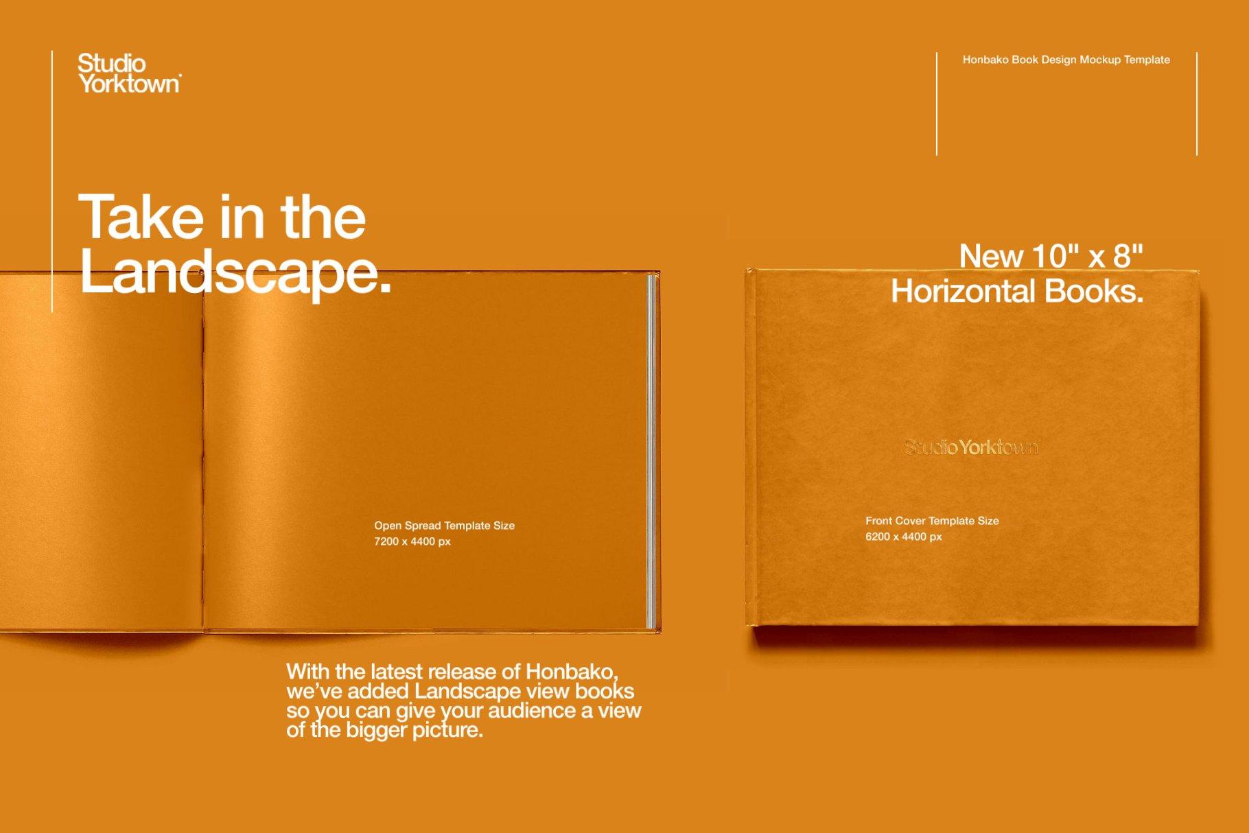 Honbako 逼真全息箔页面卷曲书籍设计PSD样机模板(4329)插图(16)