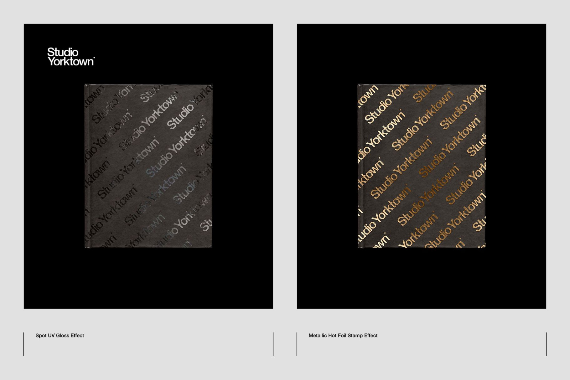 Honbako 逼真全息箔页面卷曲书籍设计PSD样机模板(4329)插图(9)