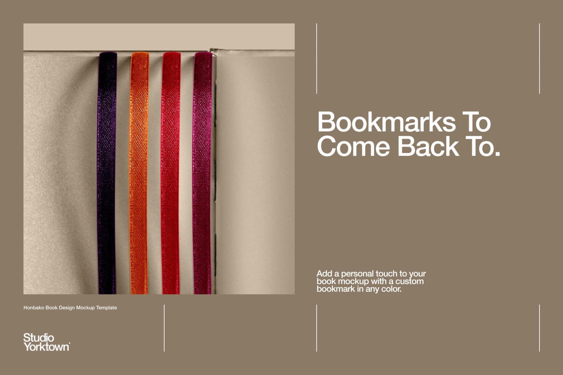 Honbako 逼真全息箔页面卷曲书籍设计PSD样机模板(4329)插图(5)