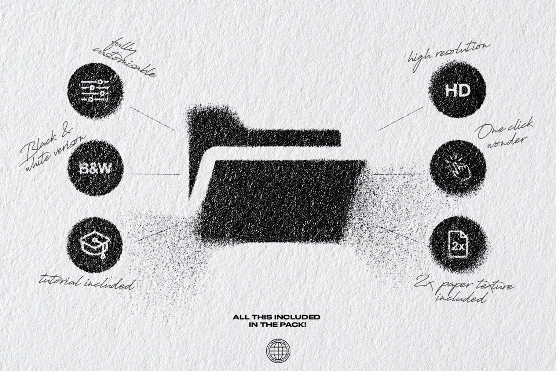 超高分辨率一键式喷雾飞溅PS动作(4330)插图(4)