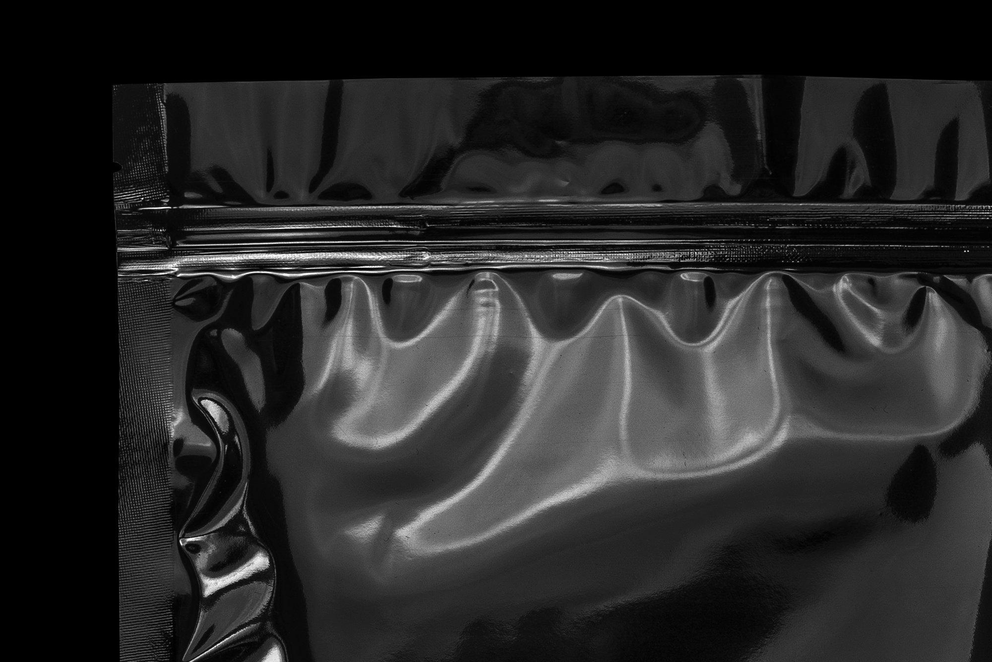 超酷新潮黑色独特逼真文具塑料褶皱塑料袋纹理PSD模板(4352)插图(10)