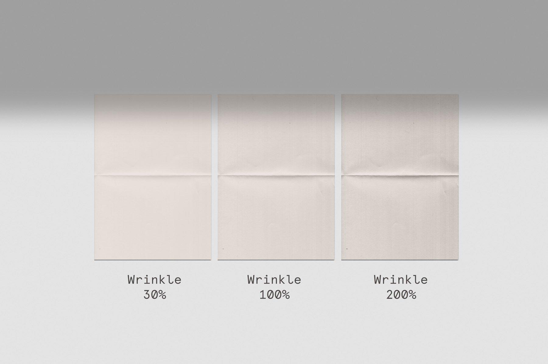 Bolderaja1 逼真自然皱纹折叠纸样机(4353)插图(5)