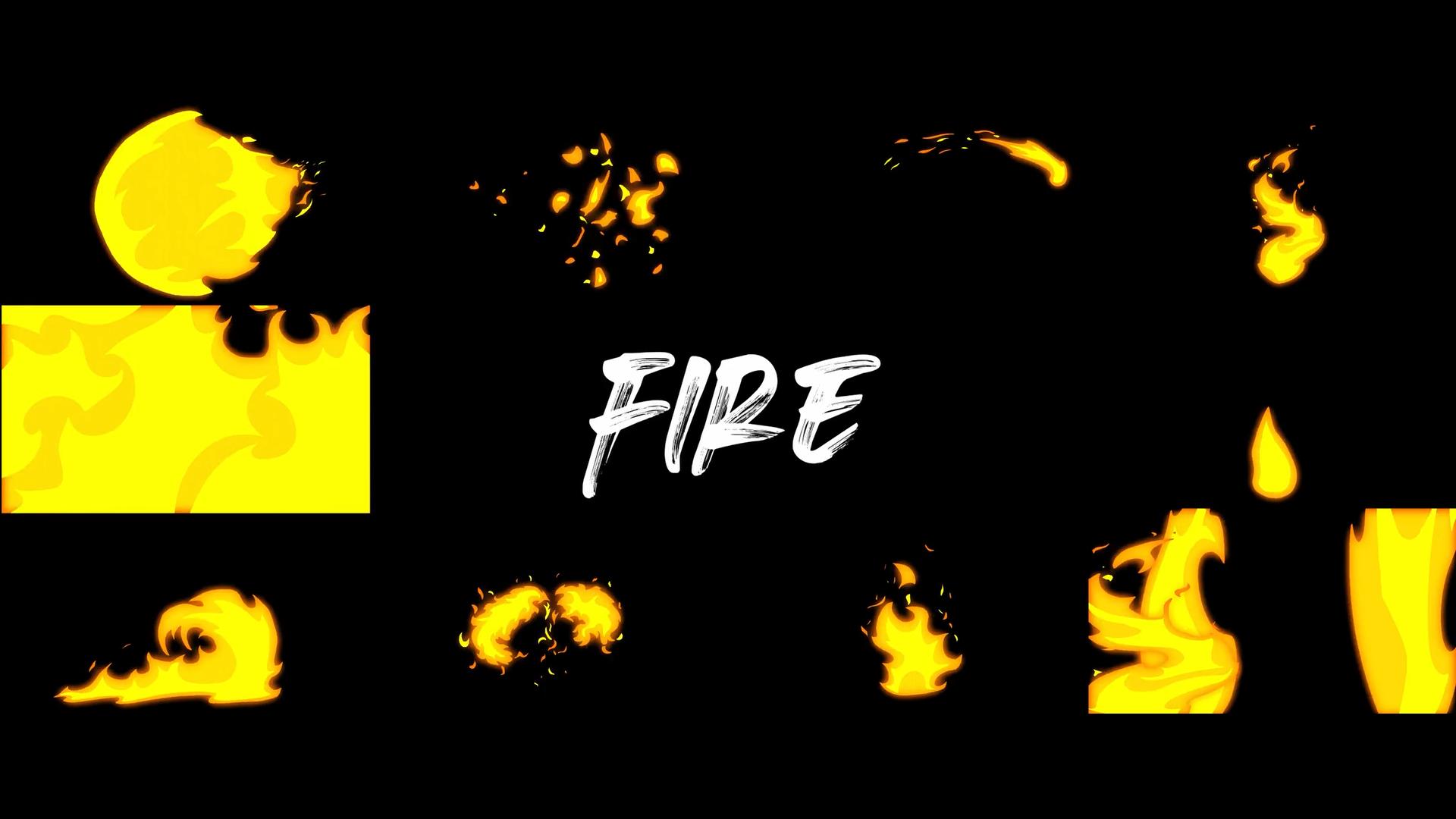 Cinepacks 2d卡通动画爆炸动作水花飞溅火焰效果烟雾缭绕视频素材(4370)插图(7)