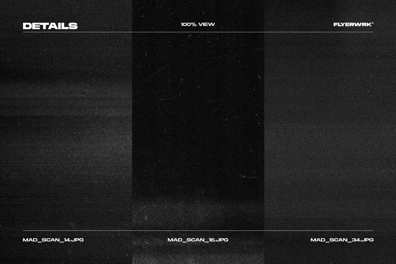 Flyerwrk 42个新潮高分辨率做旧复印扫描纸张影印纹理效果(4719)插图(10)